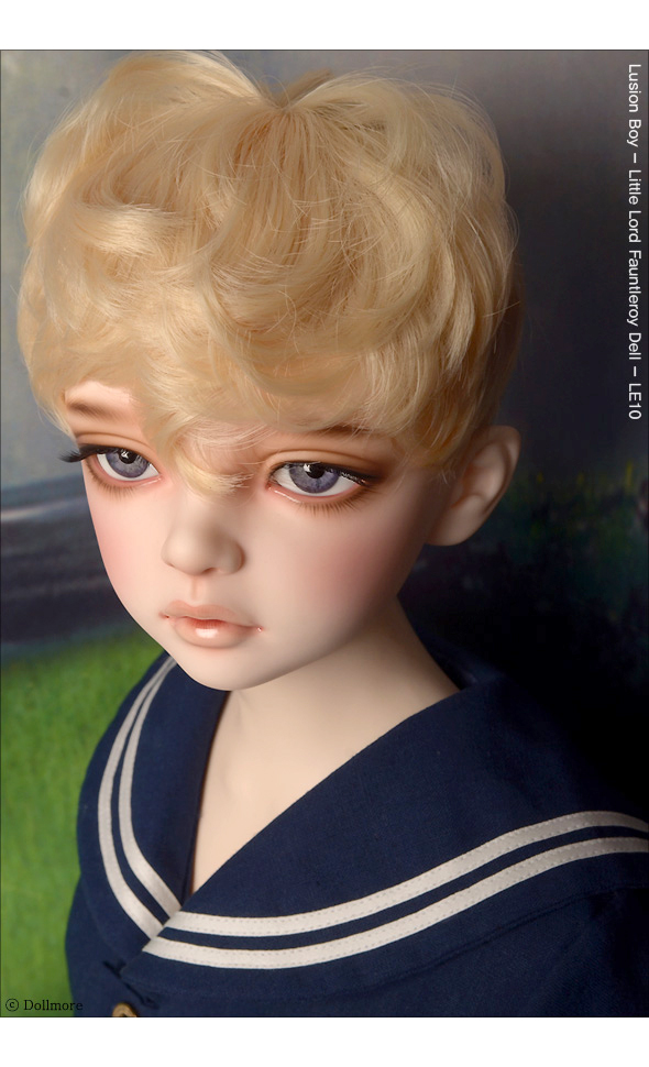 (13-14) Zeke Short Cut Wig (Blond)