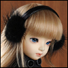 MSD & SD - Mingky Earplug Hairband (Black-M140)