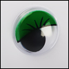 Eyelash Moving Eyes (움직이는 안구/Green)