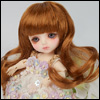 (5) Melrose Long Bang Wig (Carrot)