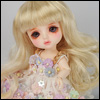 (5) Melrose Long Bang Wig (Blonde)