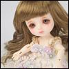(5) Melrose Long Bang Wig (Brown)