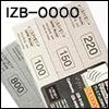 프리미엄 제브라 스틱사포 풀셋 IZB-0000 (6종)