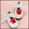 "12"" Butterfly Shoes (White-W)"