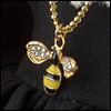 MSD & SD Size - Honeybee Necklace (Gold)