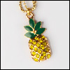 MSD & SD Size - Pineapple Necklace (Gold)