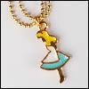 MSD & SD Size - Blue Alice Necklace (Gold)