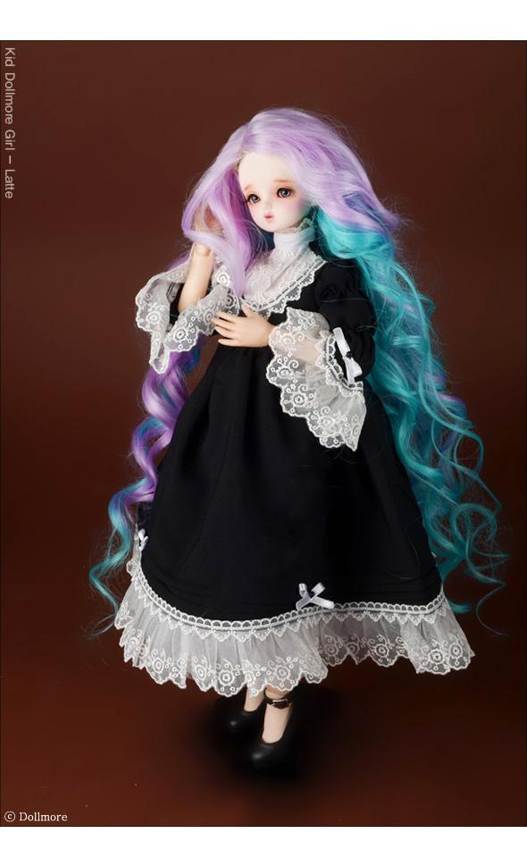 (선주문)(7-8) Arcane Long Wig (L.Violet)