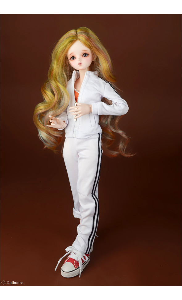 (선주문)(7-8) Arcane Long Wig (Yellow)
