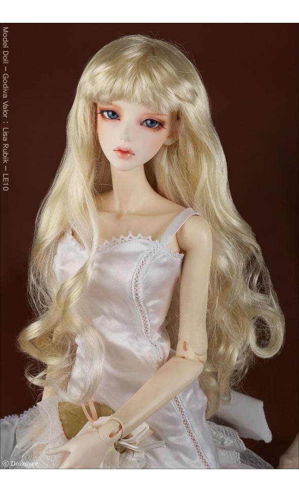 (8-9) Melrose Long Bang Wig (Blonde)