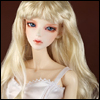 (8-9) Melrose Long Bang Wig (Blonde)
