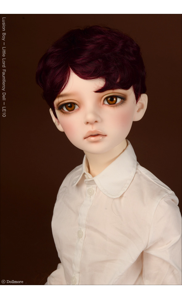 (13-14) Zeke Short Cut Wig (Wine)