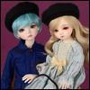 (7-8)Zoey Beret Hat (베레모 : Black)