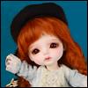 (5-6)Zoey Beret Hat (베레모 : Black)