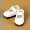 "12"" Basic Girl Shoes (White)"