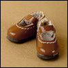 "12"" Basic Girl Shoes (Brown)"