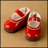 "12"" Basic Girl Shoes (Red)"