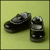"12"" Basic Girl Shoes (Black)"
