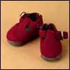 "12"" Trude Shoes (Wine)"