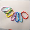 All Size - Colorful Elastic Band Set (고무줄 : 50개이상)