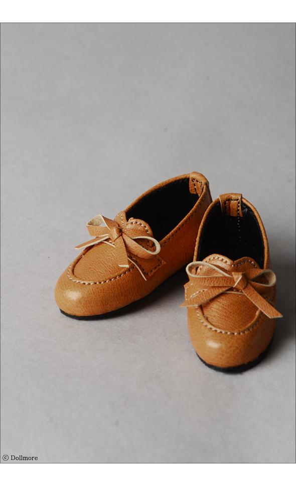 (선주문) Grace Doll Size -Ribbon Loafer  (Brown)