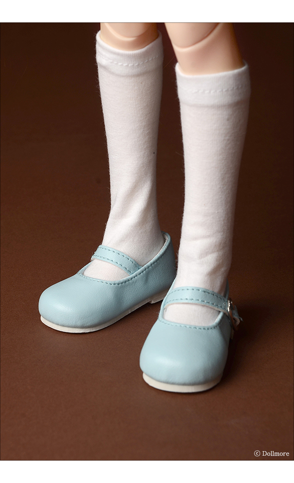 MSD - Macaron Mary Jane Shoes (Mint)