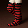 Dear Doll Size - Meme Band Stocking (Stra Red)
