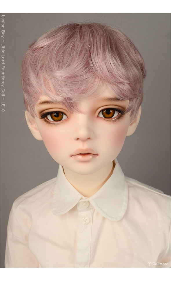 (13-14) Zeke Short Cut Wig (AS Pink)