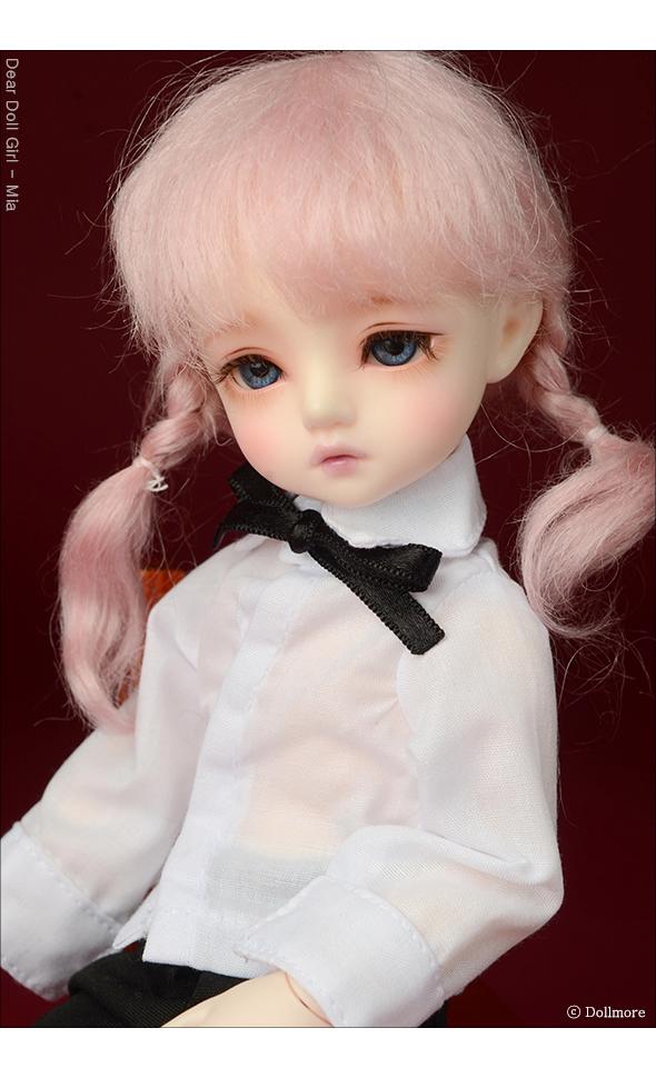 (6-7) Sayomi Mohair Wig (Pink)