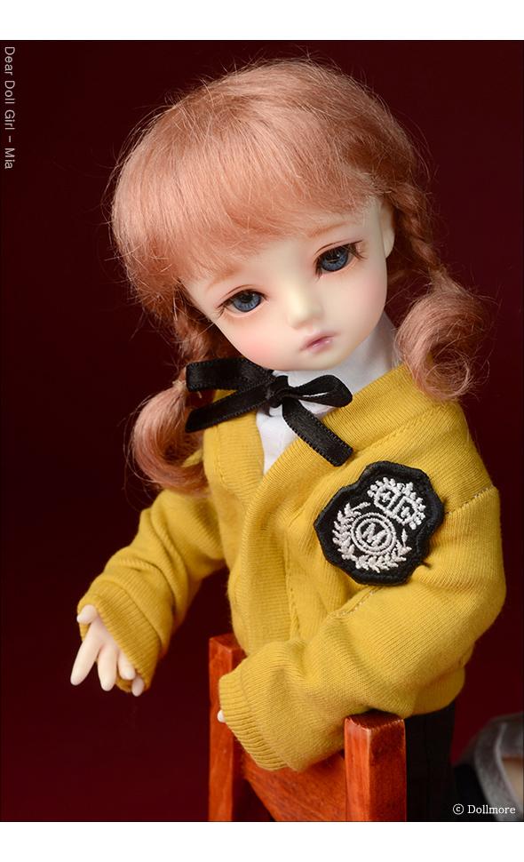 (6-7) Sayomi Mohair Wig (D Pink)