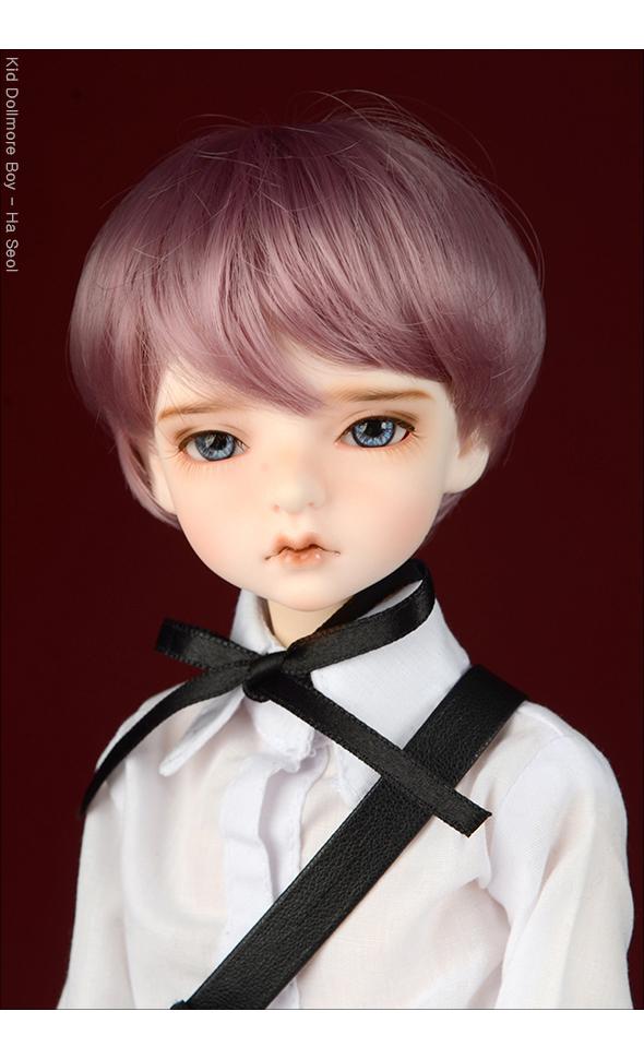(7-8) Zeke Short Cut Wig (AS Purple)