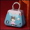 Free - Iron Fashion Handbag (PU Blue)