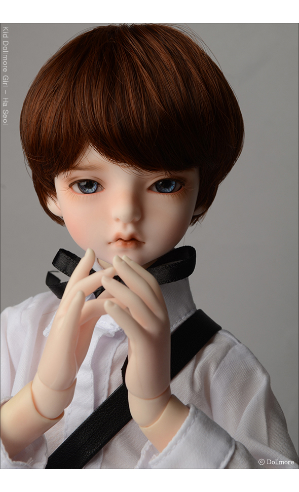 (7-8) Zeke Short Cut Wig (Brown)