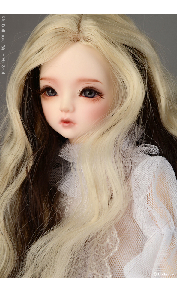 (7-8) Dyeing Long Wig (L Blonde)