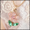 MSD & USD - Rorell Flower Necklace (Pink)