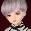 (7-8) Zeke Short Cut Wig (VL Gray)