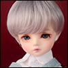 (6-7) Zeke Short Cut Wig (VL Gray)