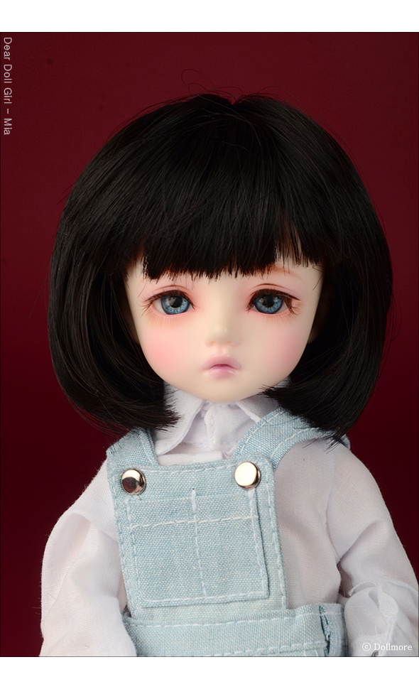 (6-7) Pageboy Cut Wig (Black)
