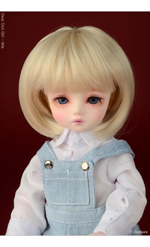 (선주문)(6-7) Pageboy Cut Wig (Blonde)