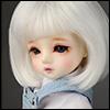 (선주문)(6-7) Pageboy Cut Wig (White)