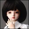 (7-8) Pageboy Cut Wig (Black)