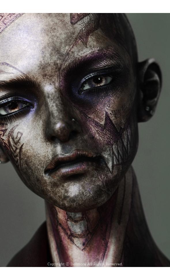 Glamor Model Doll - Origin of Violet ; Tattoo Nayuta - LE10