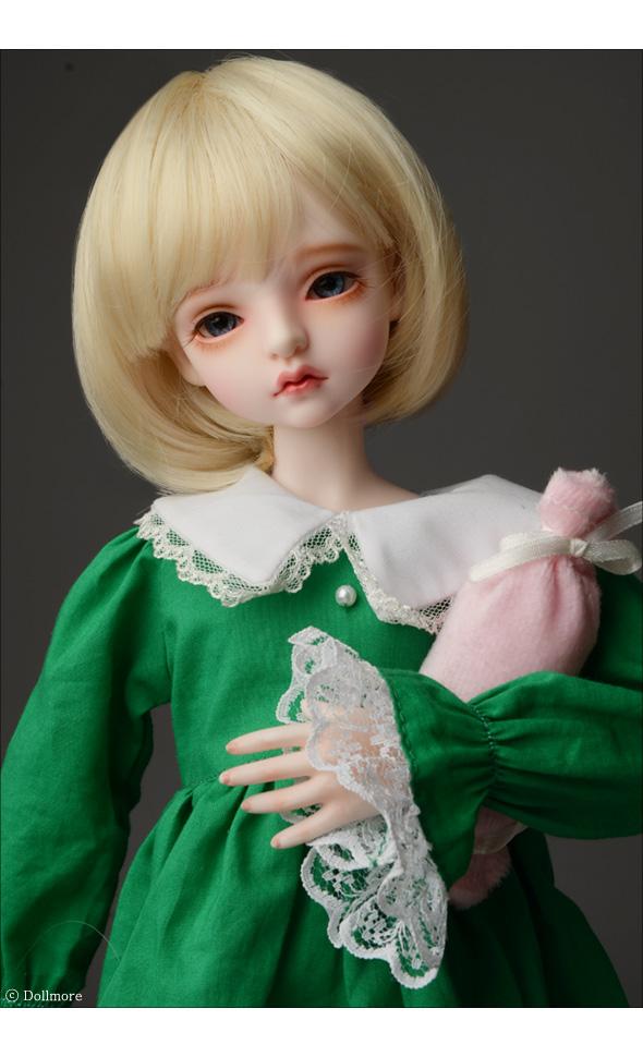 (7-8) Pageboy Cut Wig (Blonde)