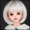 (7-8) Pageboy Cut Wig (White)