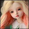 (7-8) Dyeing Long Wig (Pink + Blonde)