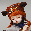(5) AniF Hat (Brown)