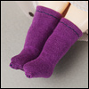 Bebe Doll Size - AWC Socks (Purple)