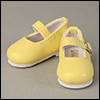 Dear Doll Size - Macaron Mary Jane Shoes (Yellow)