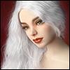 (13-14) Selena Sobazu Long Wig (White)