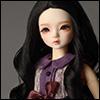 (7-8) Oenna Long Wig (Black)